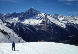Amazing Mont Blanc mountain picture
