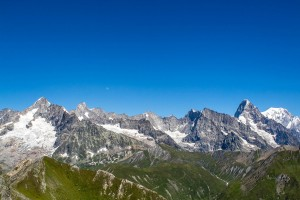 Mont Blanc mountain massif walpapers for windows