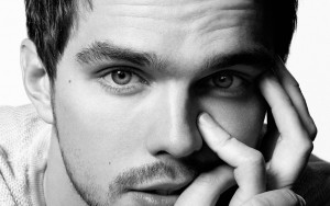 Nicholas Hoult hair bw new wallpaper