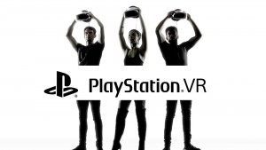PlayStation VR black and white image HD 2016