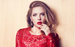 Scarlett Johansson cool Desktop Wallpaper Widescreen