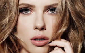 Scarlett Johansson wallpaper for desktop eyes lips