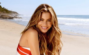 Sofia Vergara Widescreen happy
