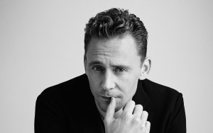 Tom Hiddleston black and white background HD wallpaper image for Desktop