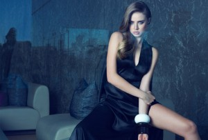 Xenia Tchoumitcheva walpapers for windows black dress