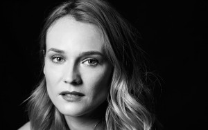 Diane Kruger picture HD black and white