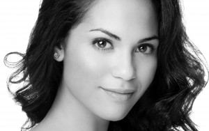 Amazing bw Monica Raymund eyes picture