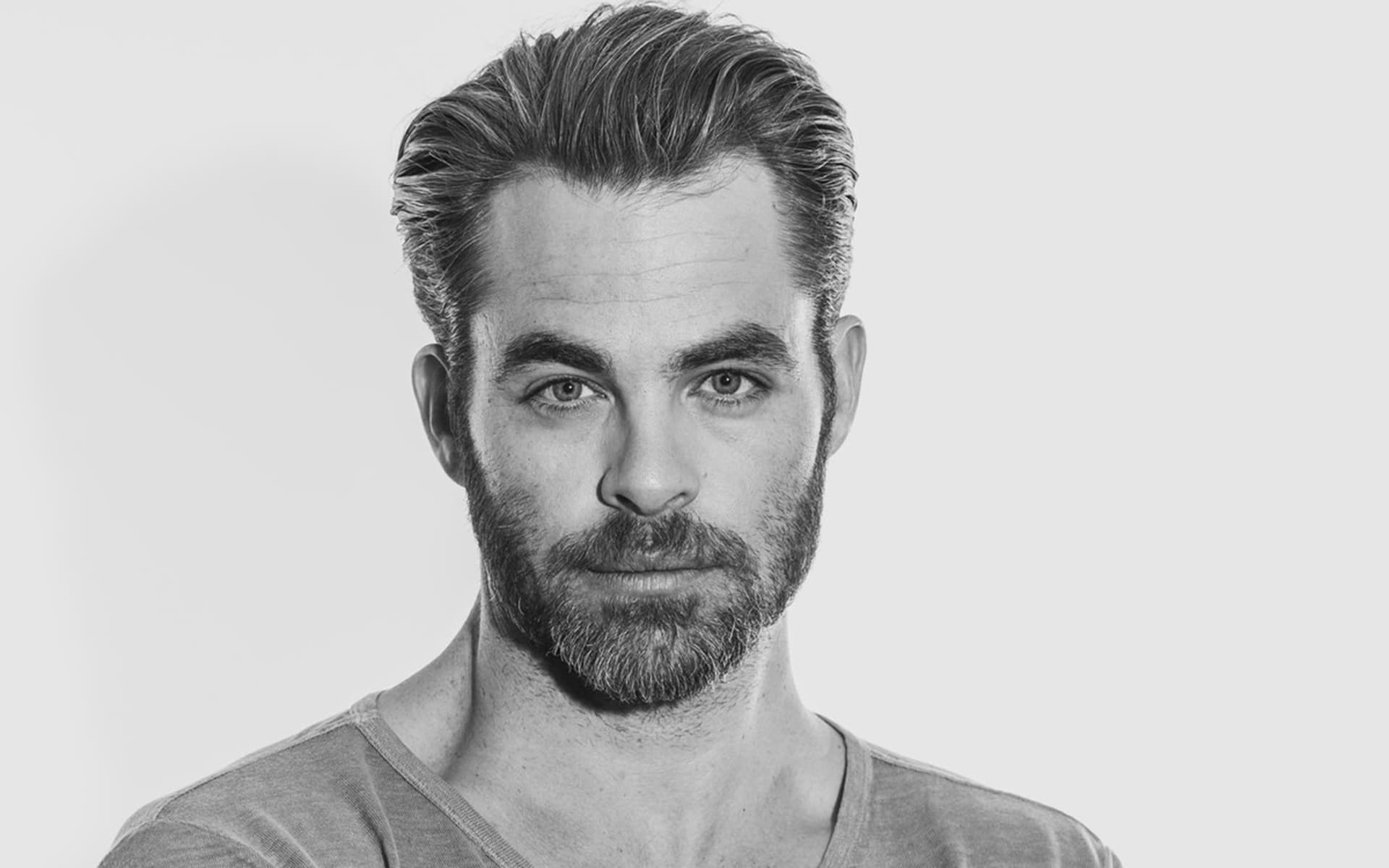 bw Chris Pine best wallpapers