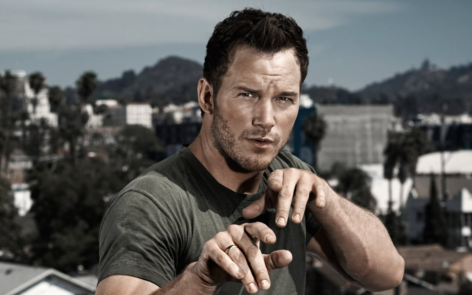 Chris Pratt cool HD wallpaper for Desktop