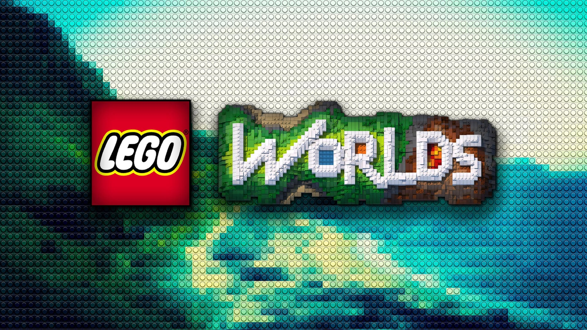 Cool LEGO Worlds logo HD pic for PC