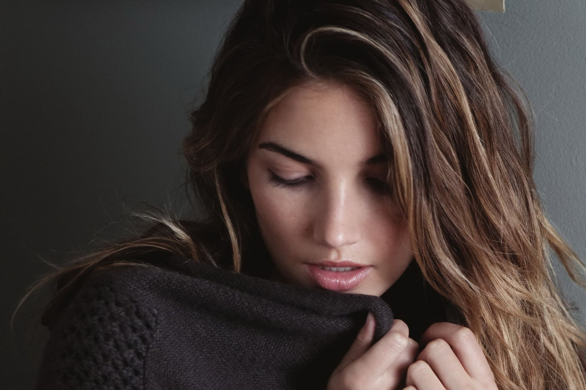 Cool Lily Aldridge HD pic for PC