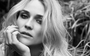 Diane Kruger HD wallpaper bw image 2016