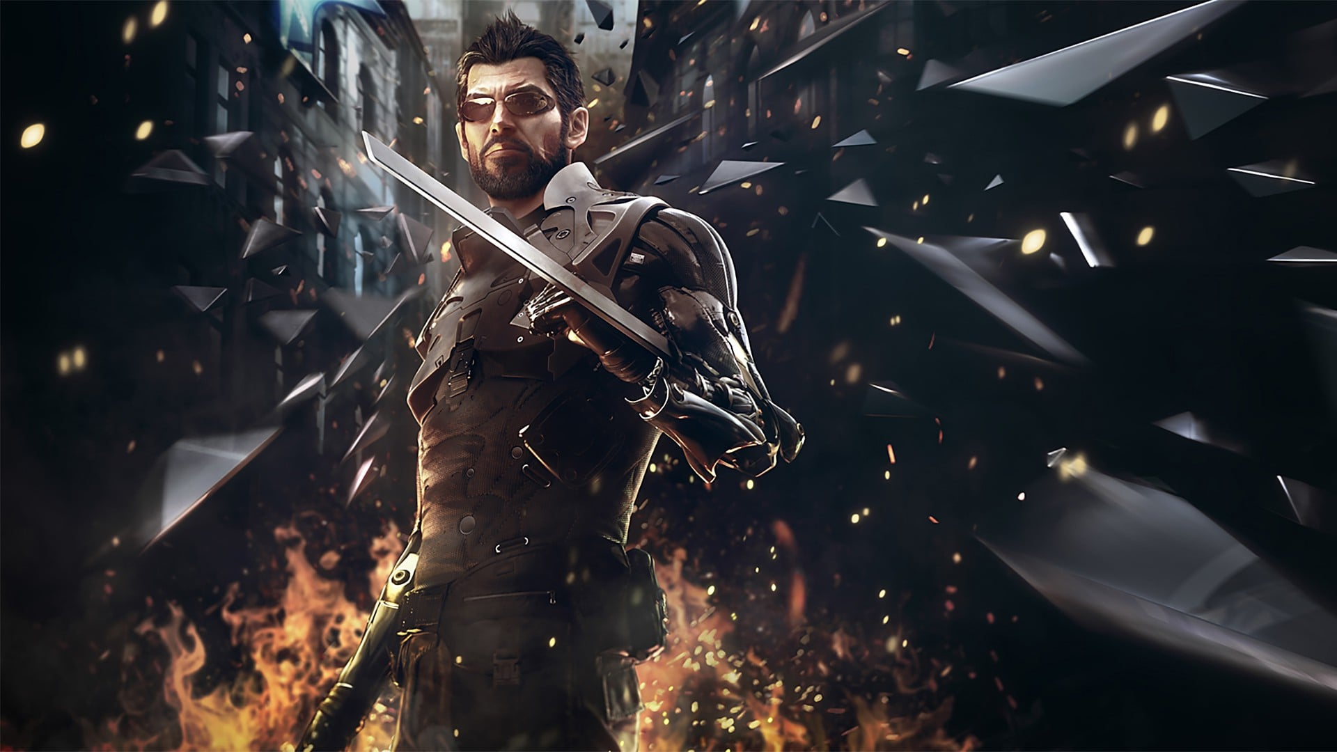 Deus Ex Mankind Divided 4k Wallpaper Hd Image 5 On Wallpapersqq