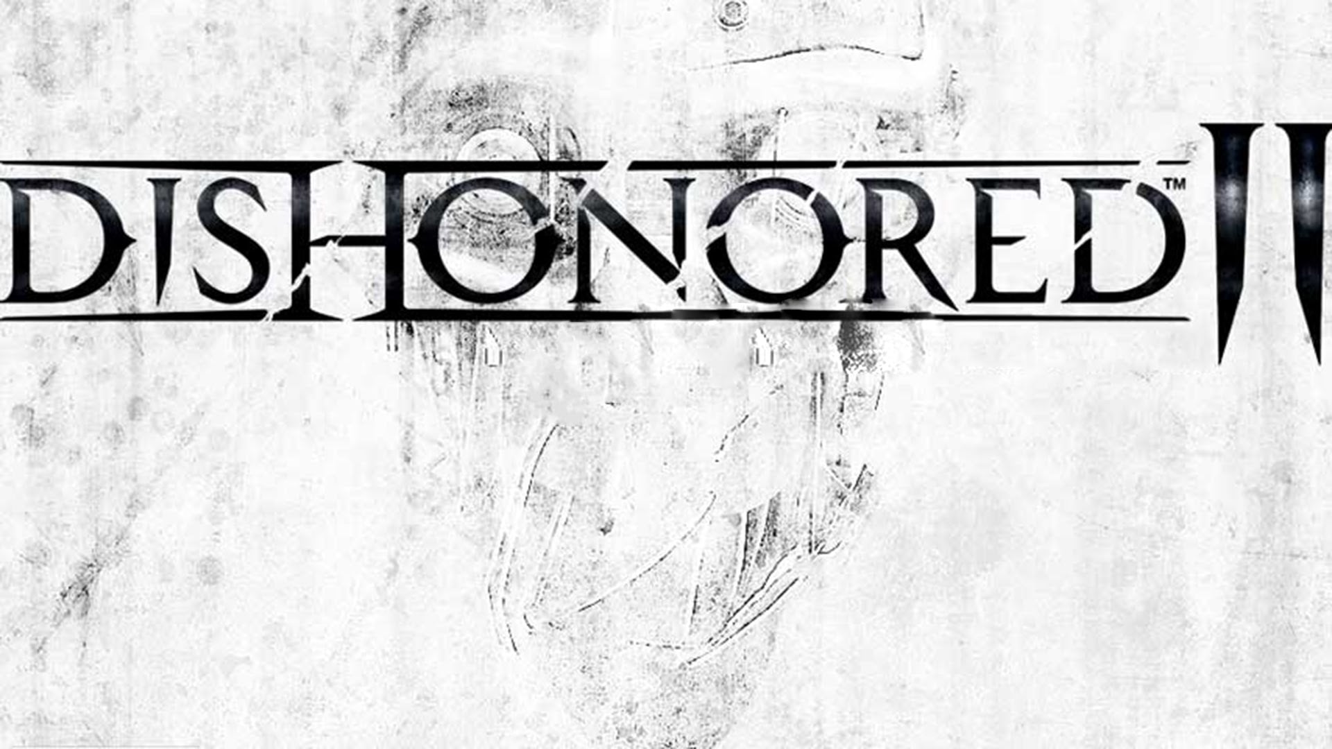 Dishonored 2 white logo 2015