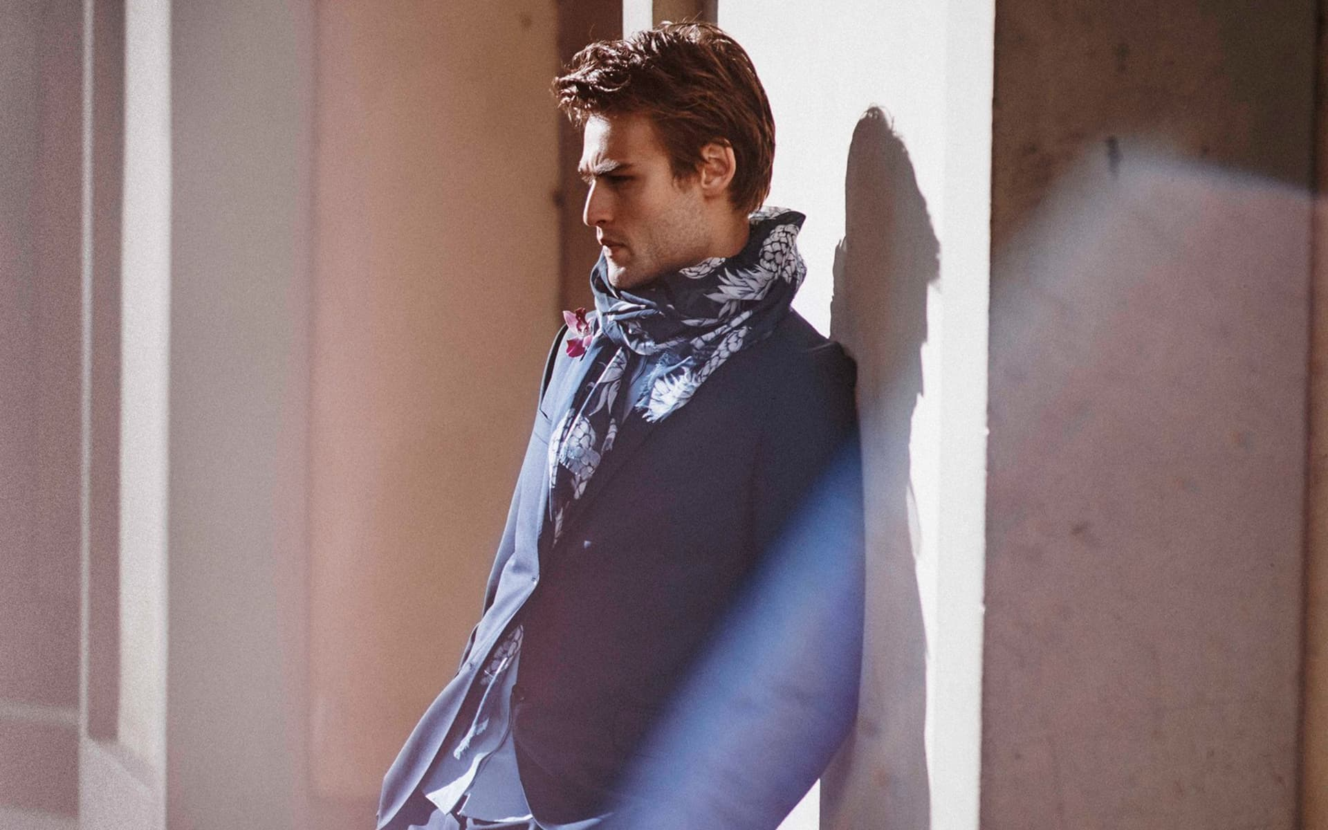 Douglas Booth style picture 2016