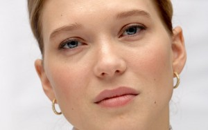 Lea Seydoux High Resolution wallpaper eyes