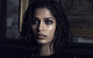 face Freida Pinto HD wallpaper