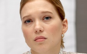 Lea Seydoux face HD photo