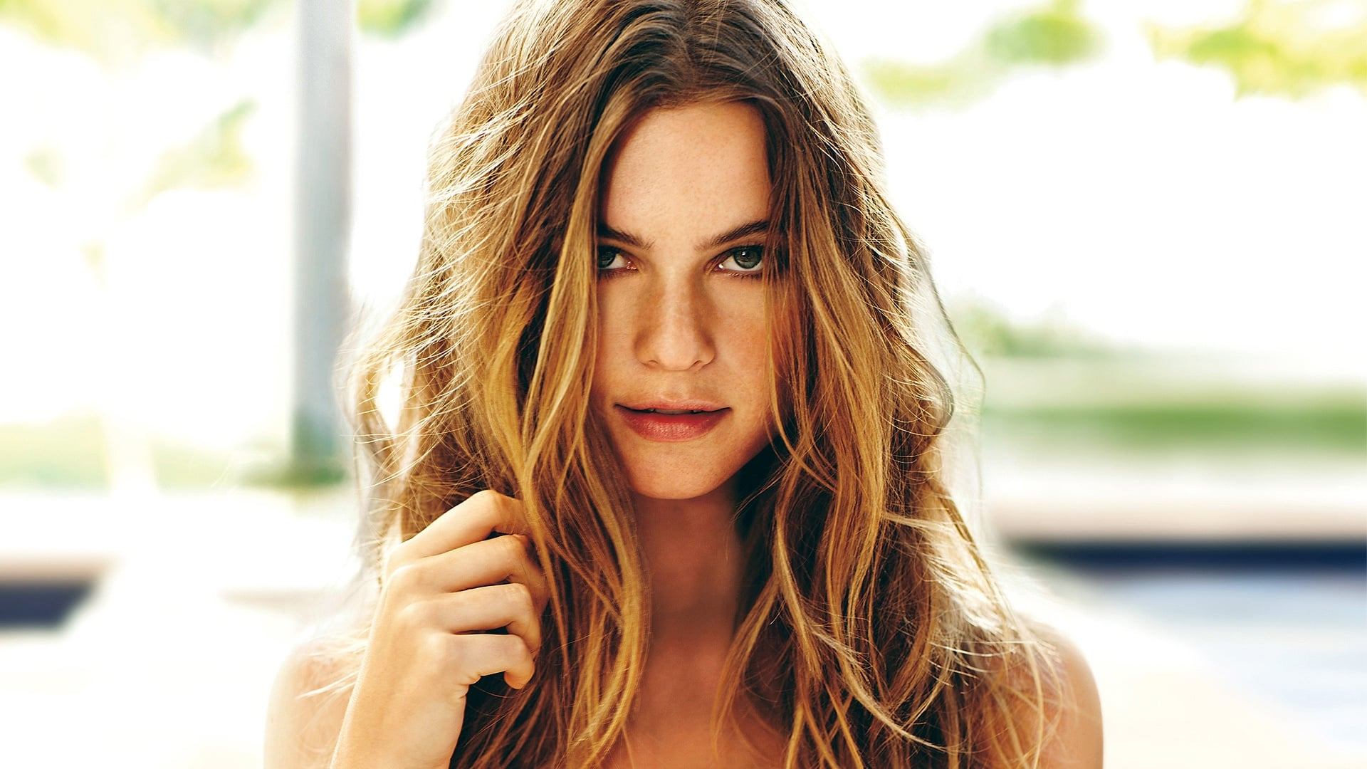 hair Behati Prinsloo widescreen wallpaper