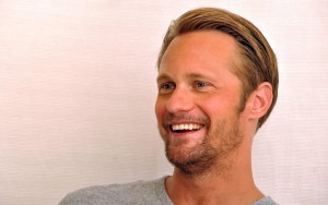happy Alexander Skarsgard 2016 picture
