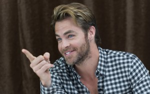 happy Chris Pine 2016 picture