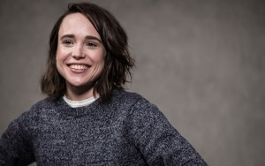 happy Ellen Page HD photo download