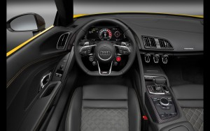 interior 2017 Audi R8 Spyder V10 HD photo