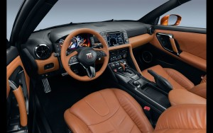 leather interior 2017 Nissan GT-R