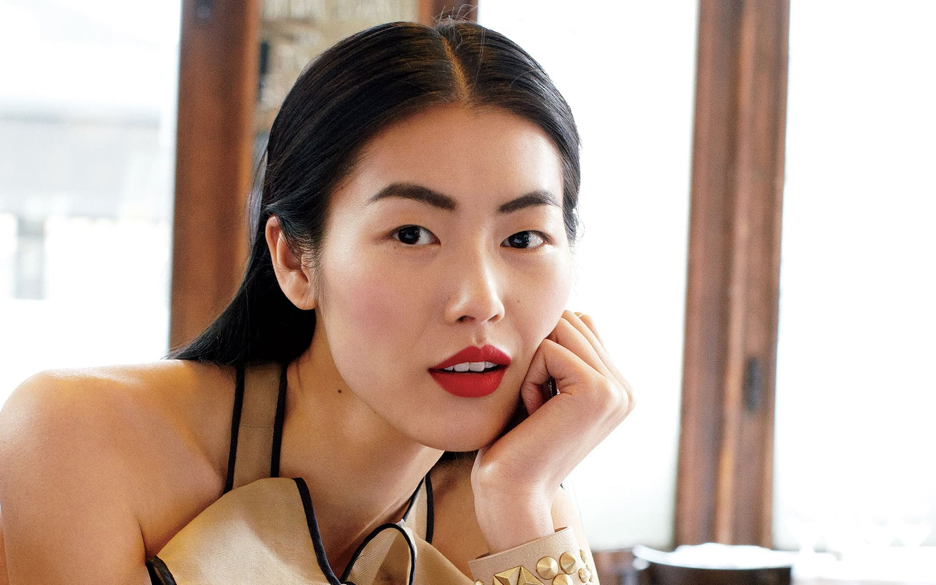 Liu Wen pictures face