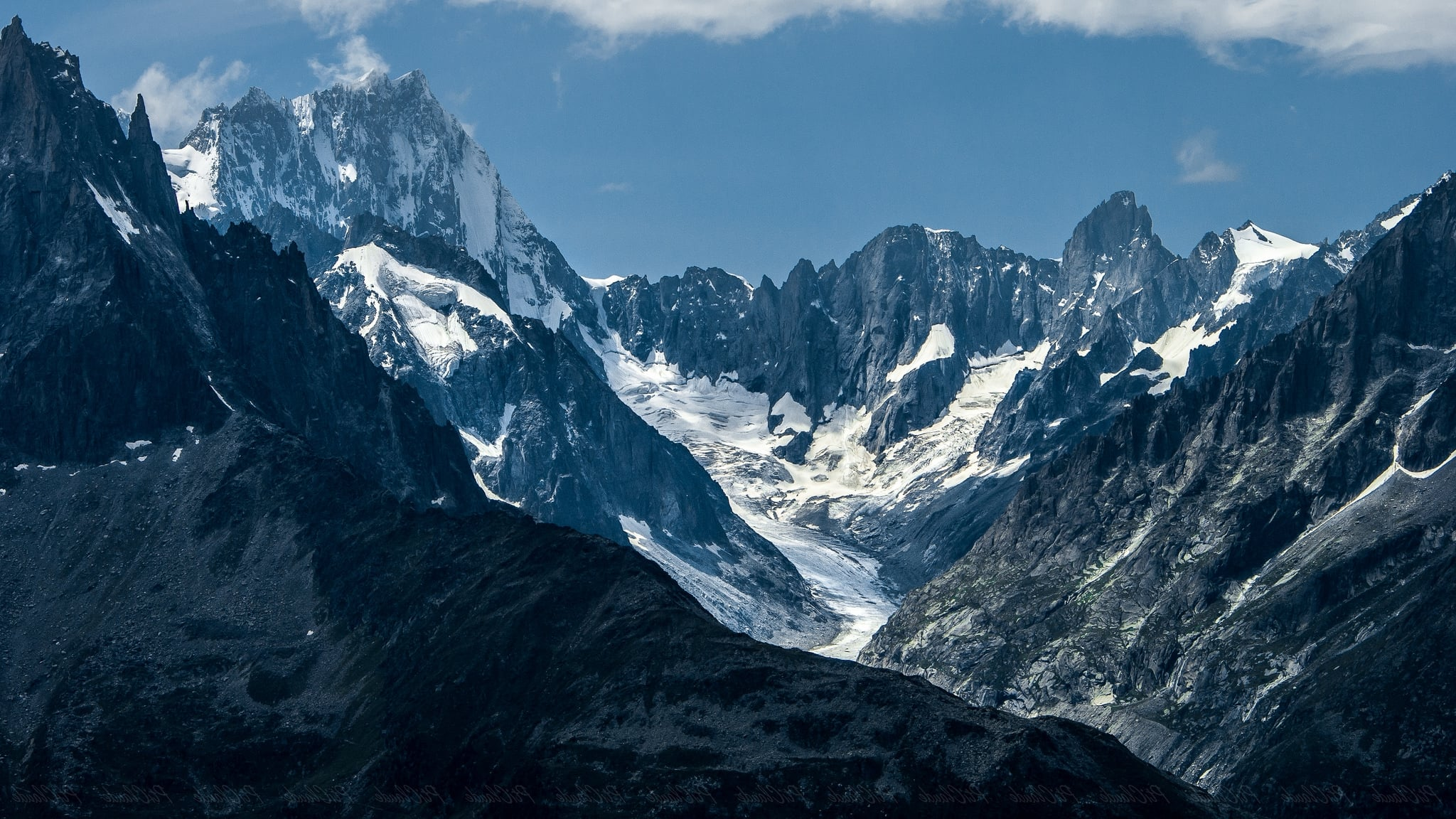 14 mont blanc mountain wallpapers for Quality wallpaper