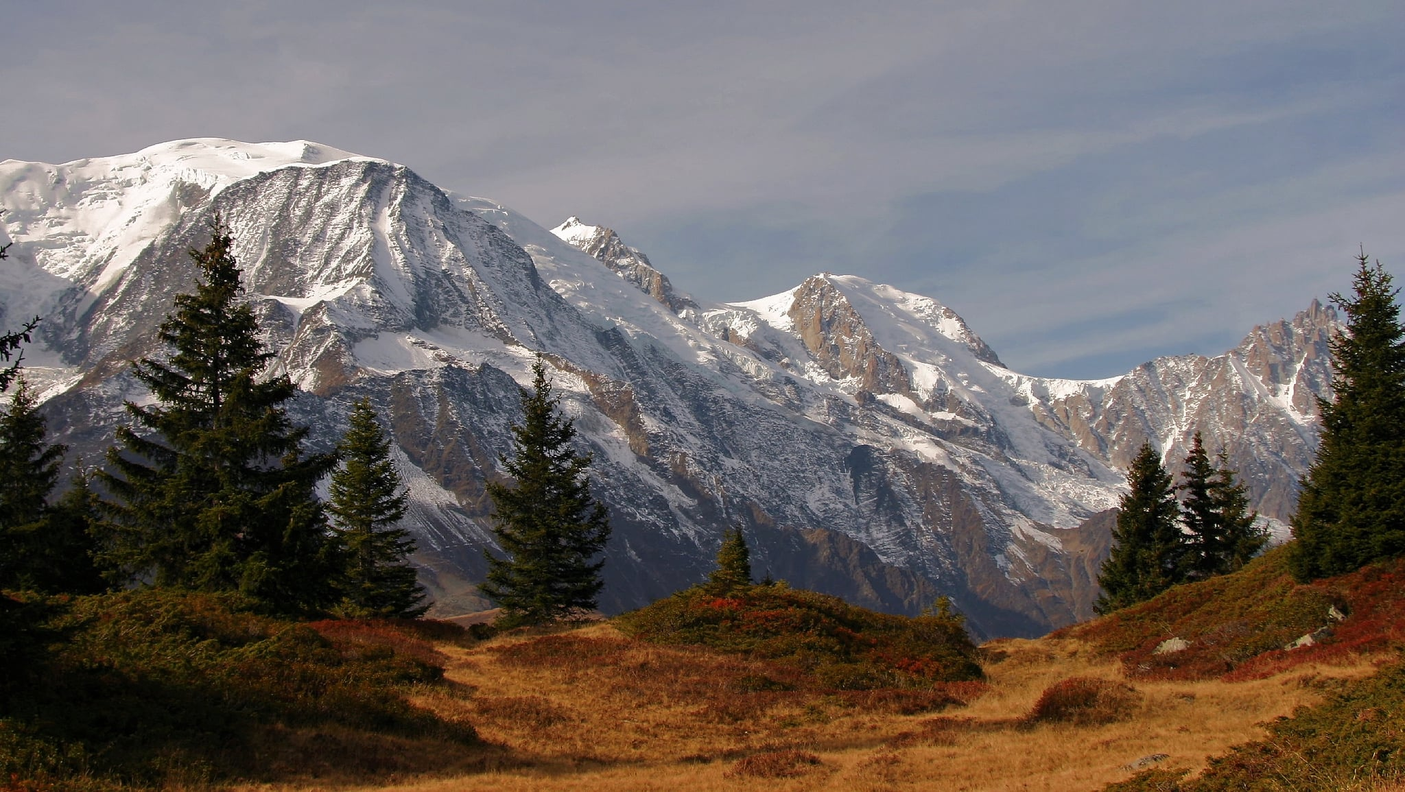 Mont Blanc mountain photo