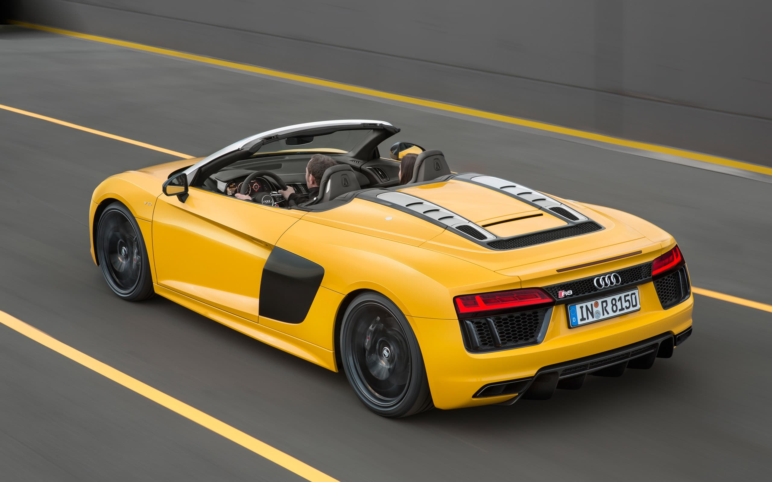 2017 Audi R8 Spyder V10 Wallpapers High Quality Resolution