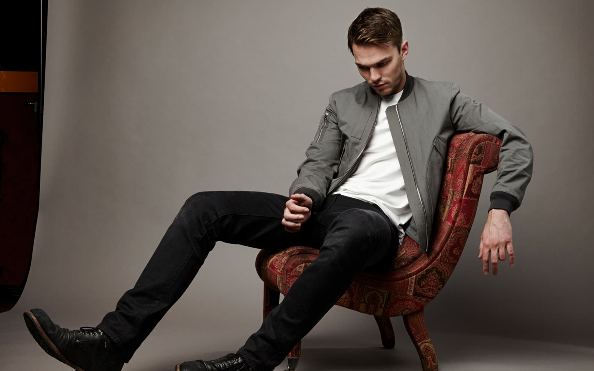 Nicholas Hoult style HD image