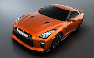 red 2017 Nissan GT-R wallpapers for Desktop