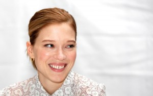 Lea Seydoux full hd smile pic