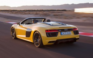 speed race 2017 Audi R8 Spyder V10 Download pictures