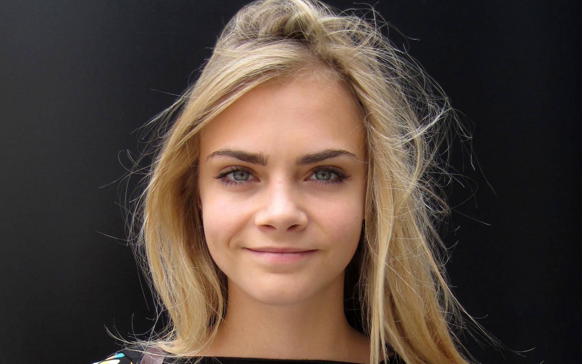 Cara delevingne face of an angel