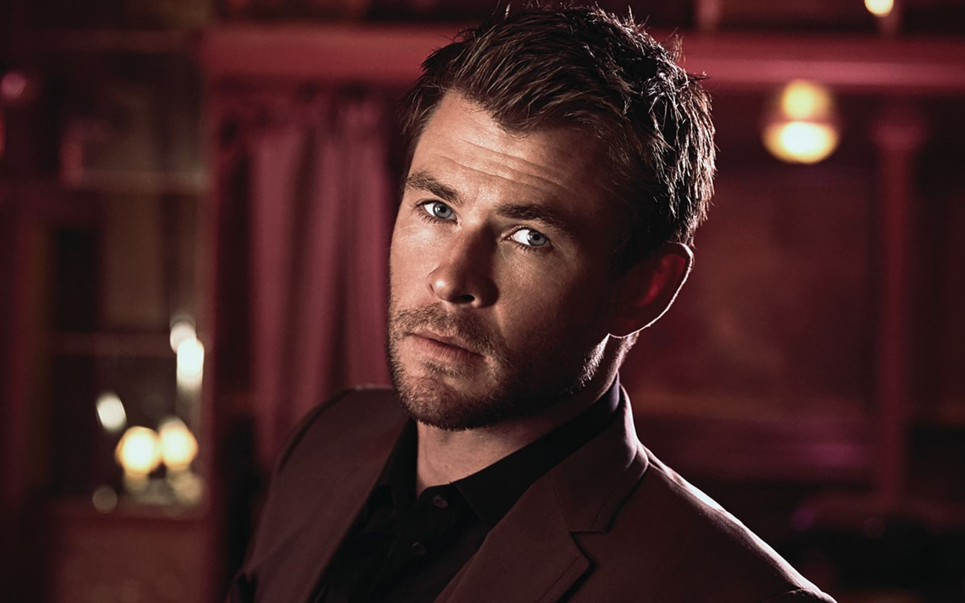 Wallpaper Chris Hemsworth face 1080p pictures HD