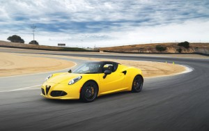 2016 Alfa Romeo 4C Spider wallpaper