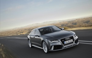 metallic 2016 Audi RS7 wallpaper