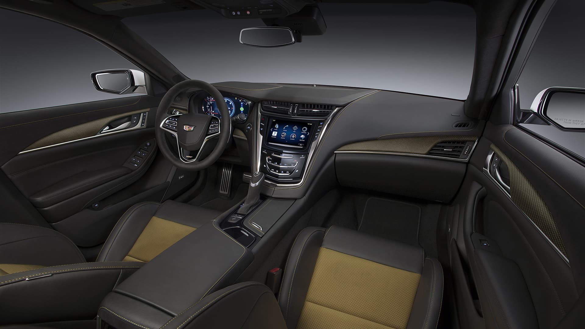 interior2016 Cadillac CTS-V picture