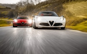 2016 Alfa Romeo 4C Spider 1080p wallpapers