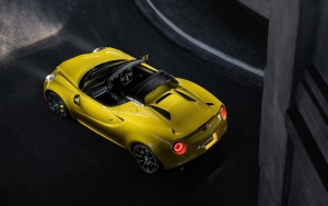2016 Alfa Romeo 4C Spider High Resolution wallpaper