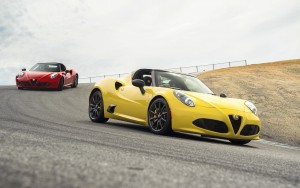2016 Alfa Romeo 4C Spider High Quality wallpaper