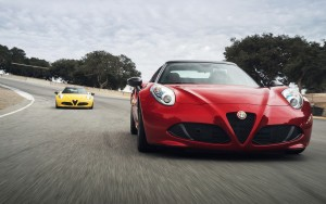 2016 Alfa Romeo 4C Spider red