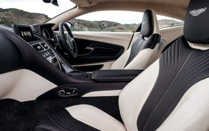 2016 Aston Martin DB11 interior