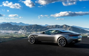 2016 Aston Martin DB11 beautiful landscape