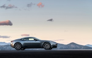 2016 Aston Martin DB11 side view
