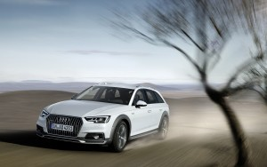 2016 Audi A4 Allroad motion High Resolution wallpaper