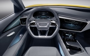 2016 Audi H-tron Quattro Concept interior High Resolution wallpaper